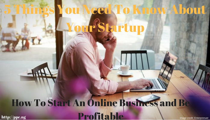 Online Business: 5 Things You Need To Know About Your Startup.